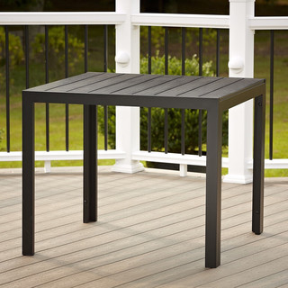 Cosco Outdoor Resin Slat Dining Table - Contemporary ...