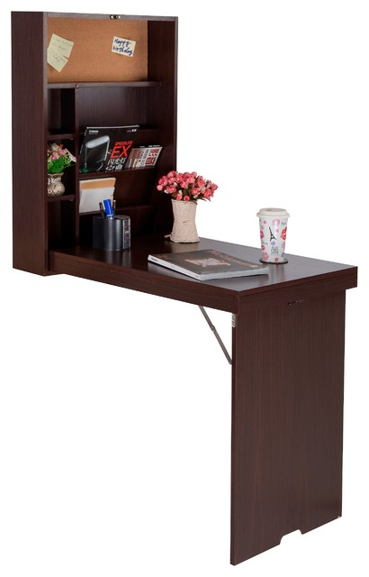 Drop Down Wall Mount Desk Modern Desks And Hutches
