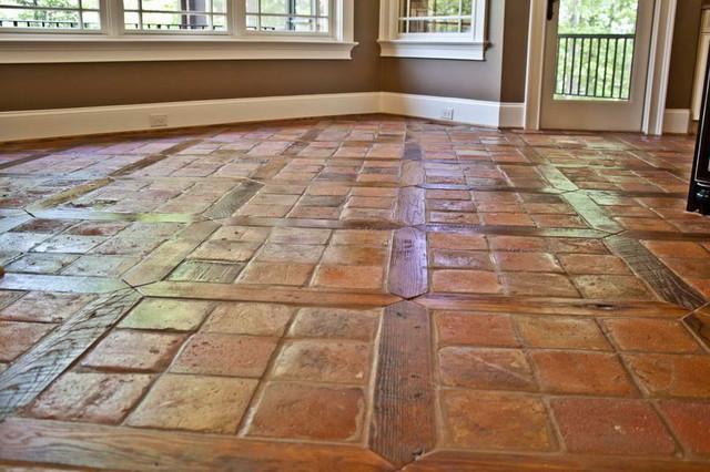 reclaimed terracotta tiles mediterranean - photo #15