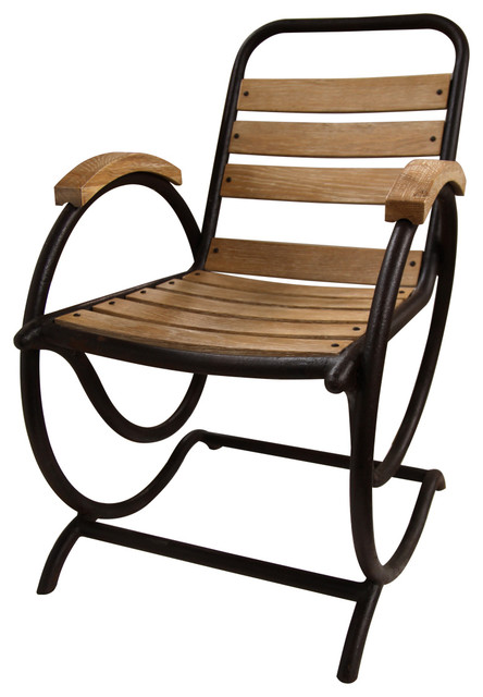 Volute Armed Rocker - Farmhouse - Rocking Chairs - by Bliss Home and ...