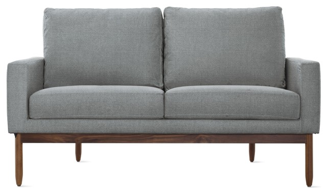 Raleigh Two Seater Sofa In Fabric Modern Sofas