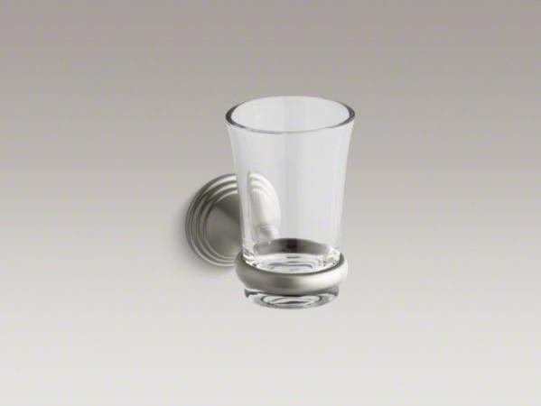 Kohler Devonshire R Tumbler And Holder Contemporary Bathroom Accessories By Kohler