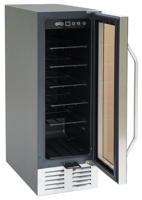 Under Counter Wine And Beverage Cooler Contemporary