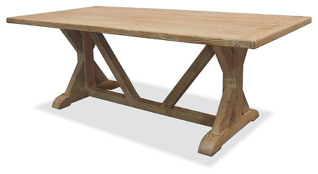 La Phillippe Reclaimed wood Rectangular Dining Table  : contemporary dining tables from www.houzz.com size 640 x 350 jpeg 31kB