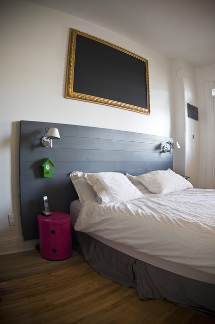 Modern Amp Wood Headboard Headboards Montreal By Tipy