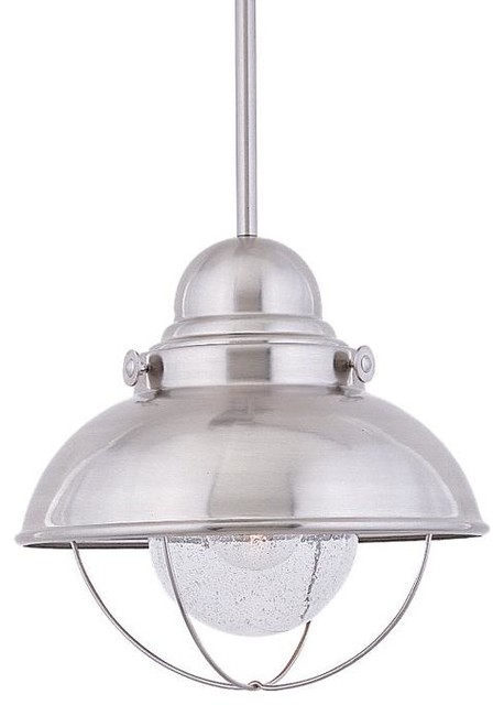 Restoration Warehouse Sebring Pendant Brushed Stainless Traditional Out