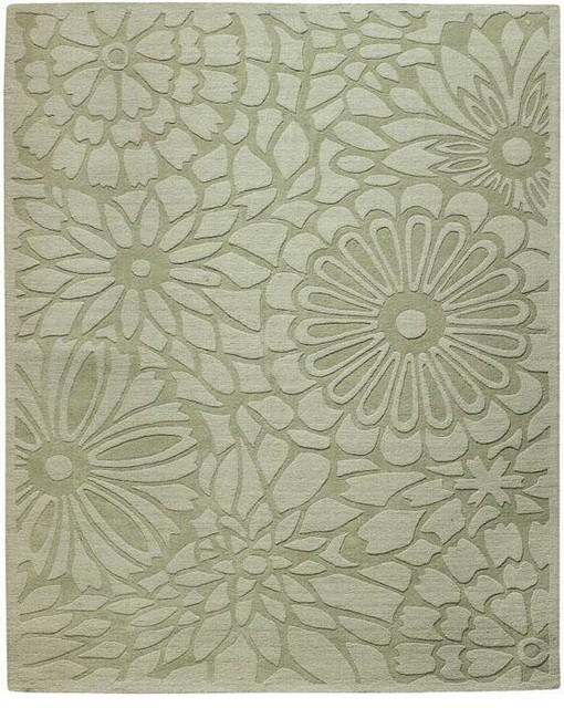 Martha stewart living full bloom area rug traditional for Martha stewart rugs home decorators