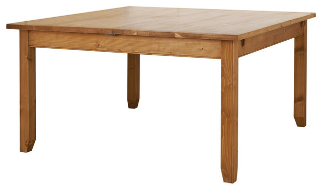 Table carr e allonge modern dining tables by for Table qui s allonge