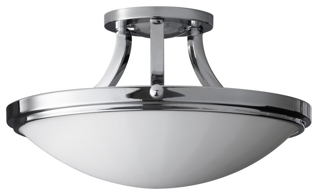 Feiss sf283ch perry chrome semi flush mount cl sico for Plafones clasicos