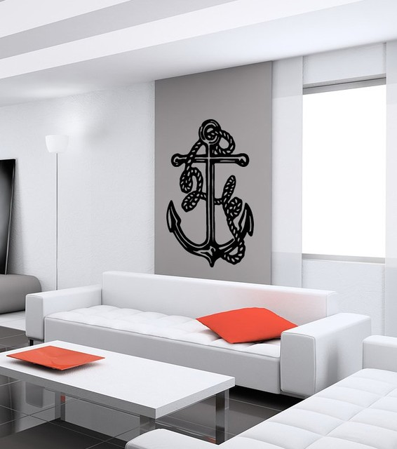 anchor cute abstract design wall vinyl sticker decals art mural wall decals
