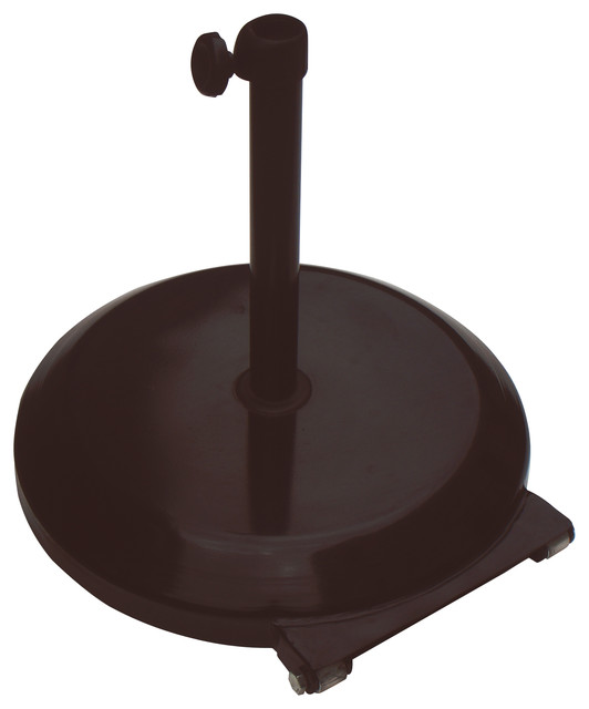 umbrella base with wheels bronze traditional outdoor