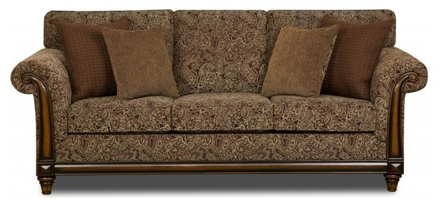 Made To Order Simmons Upholstery Merion Classic Sofa Contemporary Sofas By