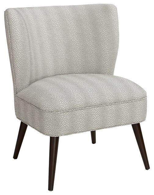 Bailey chair pewter dots contempor neo sillones y - Sillones contemporaneos ...