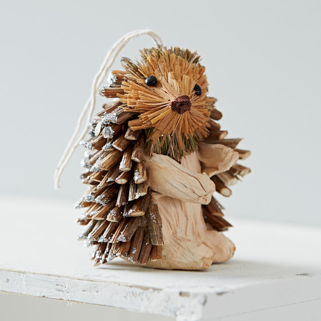 Hanging Hedgehog Decoration Country Christmas
