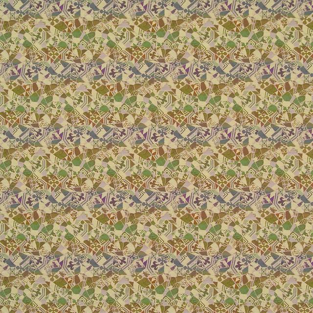 Mezcla Lima Geometric Woven Flat Upholstery Fabric by the