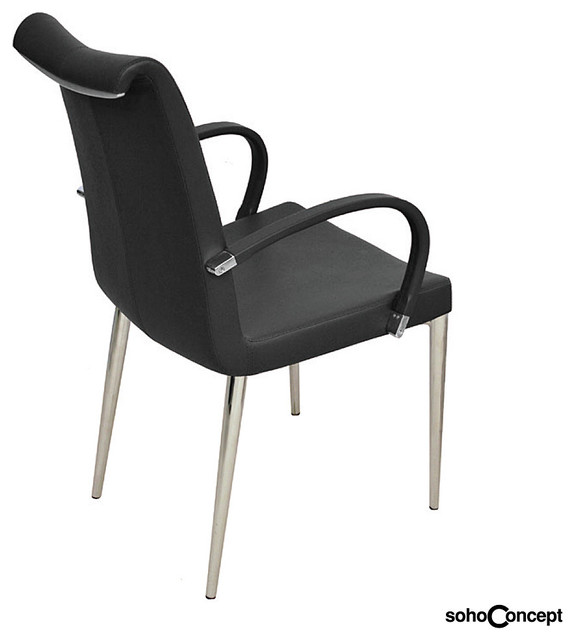 soho concept tulip arm chair modern dining chairs