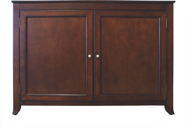 Monterey tv lift cabinet for flat screen tv 39 s up to 55 for Tv lift consoles for flat screens