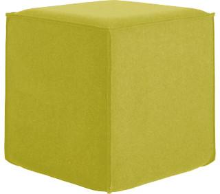 Felti repose pieds en feutre moderne repose pieds for Cube miroir habitat