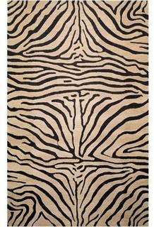 Seville Zebra Neutral Rug Modern Rugs