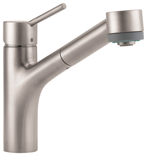 Talis Single Hole Kitchen Faucet Pull Spray Hansgrohe Hansgrohe Talis Single Hole Kitchen