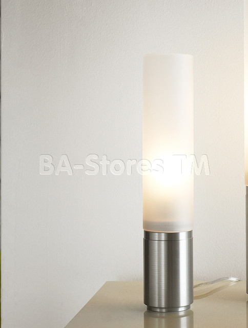 18 Elise Table Lamp with Silver Base