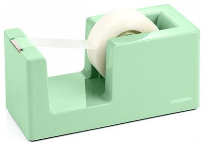 Tape Dispenser and Tape Mint Modern Desk Accessories