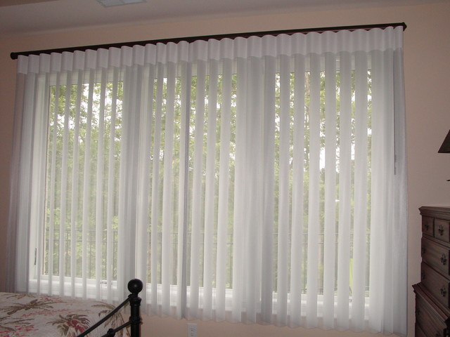 Hunter Douglas Luminette Privacy Sheers Traditional