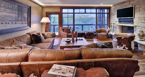 Deer Valley Ski Retreat - Traditional - Living Room - salt lake city - by Gacek Design Group, Inc.