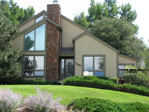 Tan Vinyl Windows : Vinyl windows white or tan eighties style wood home