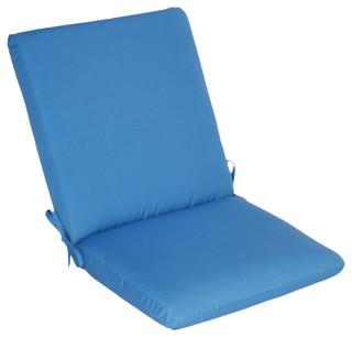 Sunbrella High Back Pad Traditional Outdoor Cushions