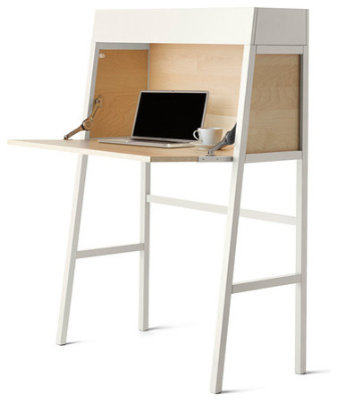 ikea ps 2014 bureau white birch veneer contemporary. Black Bedroom Furniture Sets. Home Design Ideas