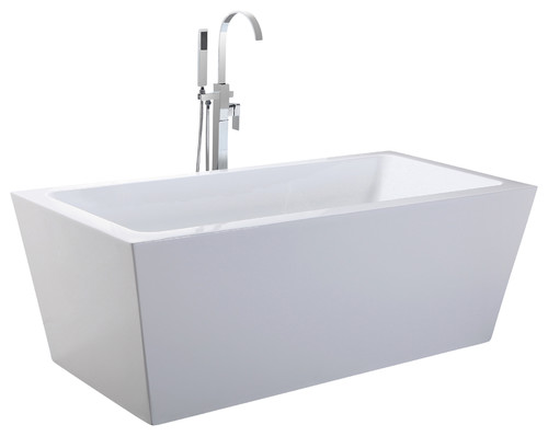does this tub support a deck mount faucet