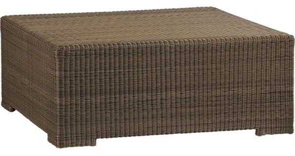 Sanibel coffee table in sanibel crate and barrel - Crate and barrel espana ...