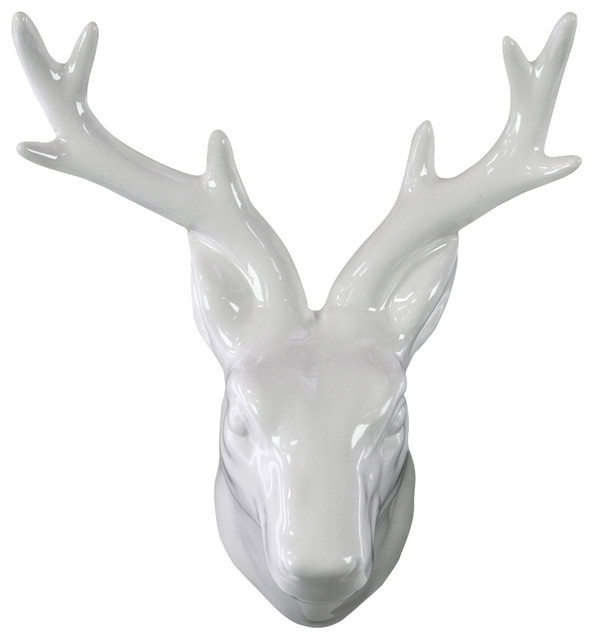 ceramic deer head wall decor kids wall decor by urban trends
