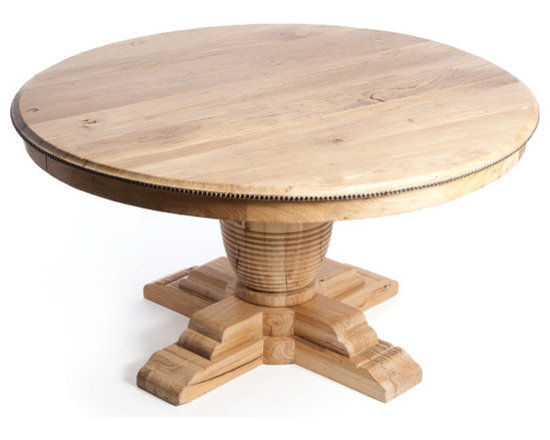table measures inches high with a 60 inch diameter and