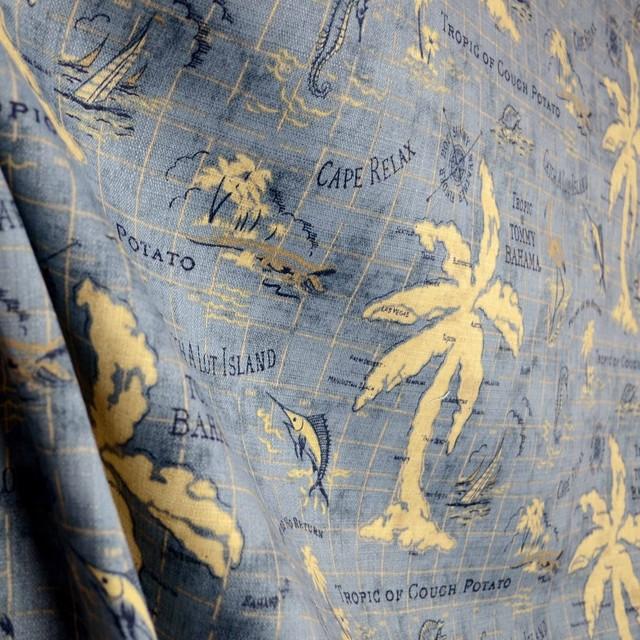 Island Song Ocean Outdoor Fabric Tommy Bahama Waverly