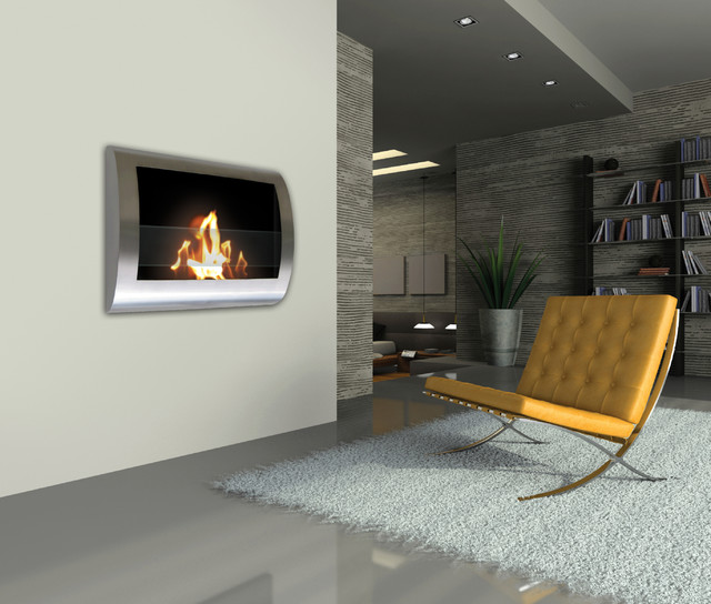 Anywhere Stainless Steel Bio Ethanol Fireplace