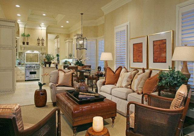 Traditions Ii Grey Oaks Contemporary Living Room Miami By Naples Kitchen And Bath