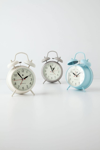 covent alarm clock modern wecker von anthropologie. Black Bedroom Furniture Sets. Home Design Ideas