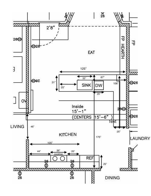 Kitchen Layout For Remodel Help