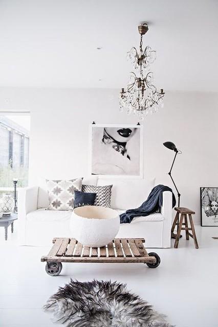 70 Cozy Scandinavian Living Room Designs