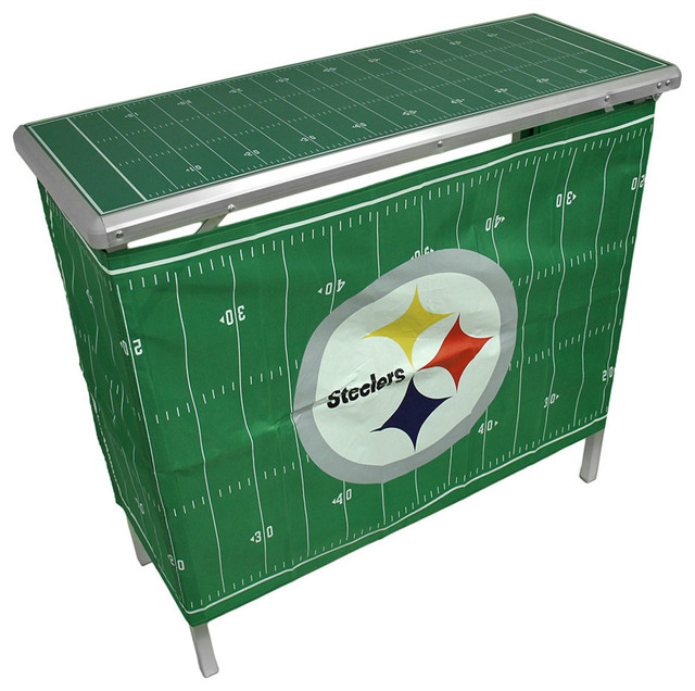 Nfl Pittsburgh Steelers Folding Aluminum Tailgate Table