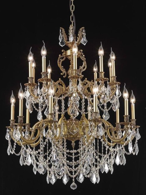 elegant lighting 9520g36fg rc chandelier from the marseille collection contemporary. Black Bedroom Furniture Sets. Home Design Ideas