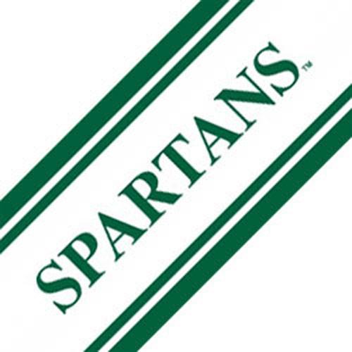 Ncaa Michigan State Spartans Accent Self Stick Wall Border