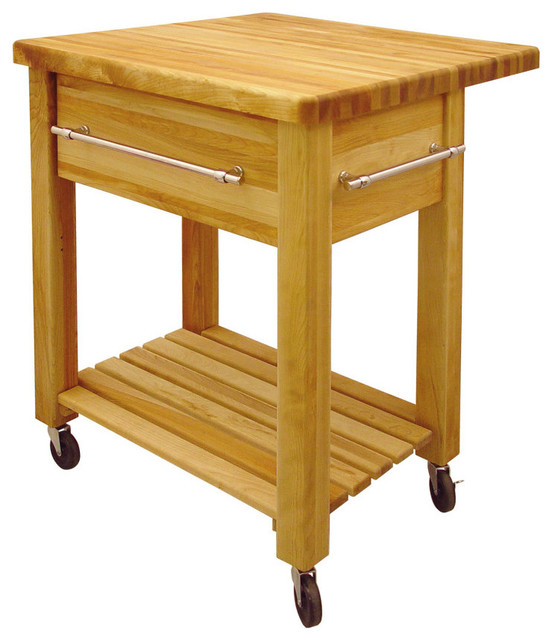 Catskill Grand Island Wine Cart With Drop Leaf Contemporary Kitchen Islands And Kitchen