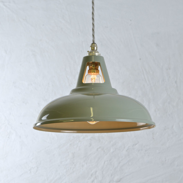 Olive Grey Coolicon Light Vintage Industrial Loft