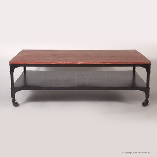 Ruth industrial coffee table industrial coffee for Coffee tables melbourne