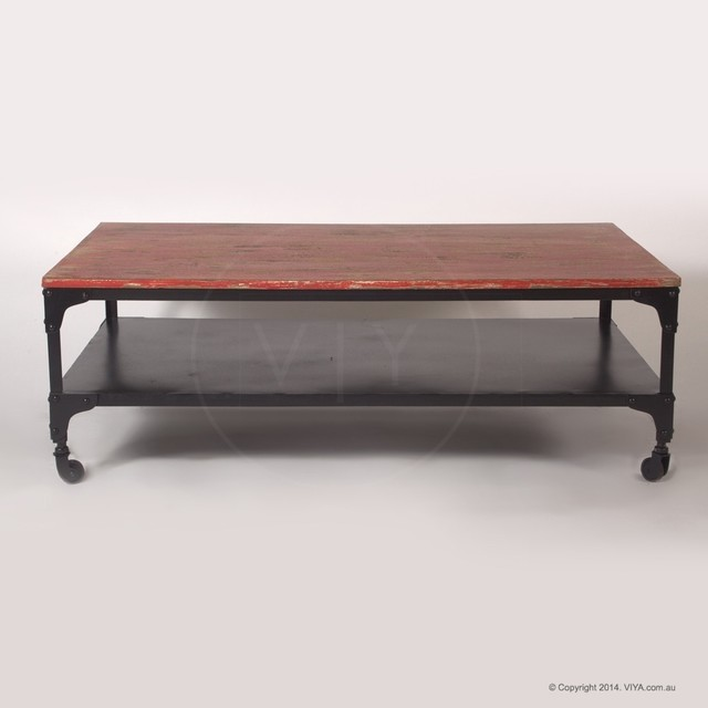 Ruth Industrial Coffee Table Industrial Coffee Tables Melbourne By Viya