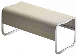 za 2 bank stapelbar gestell aluminium bauhaus look m bel von. Black Bedroom Furniture Sets. Home Design Ideas