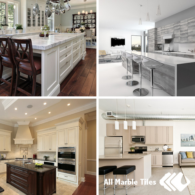 ... Kitchen Countertops - Contemporary - new york - by All Marble Tiles